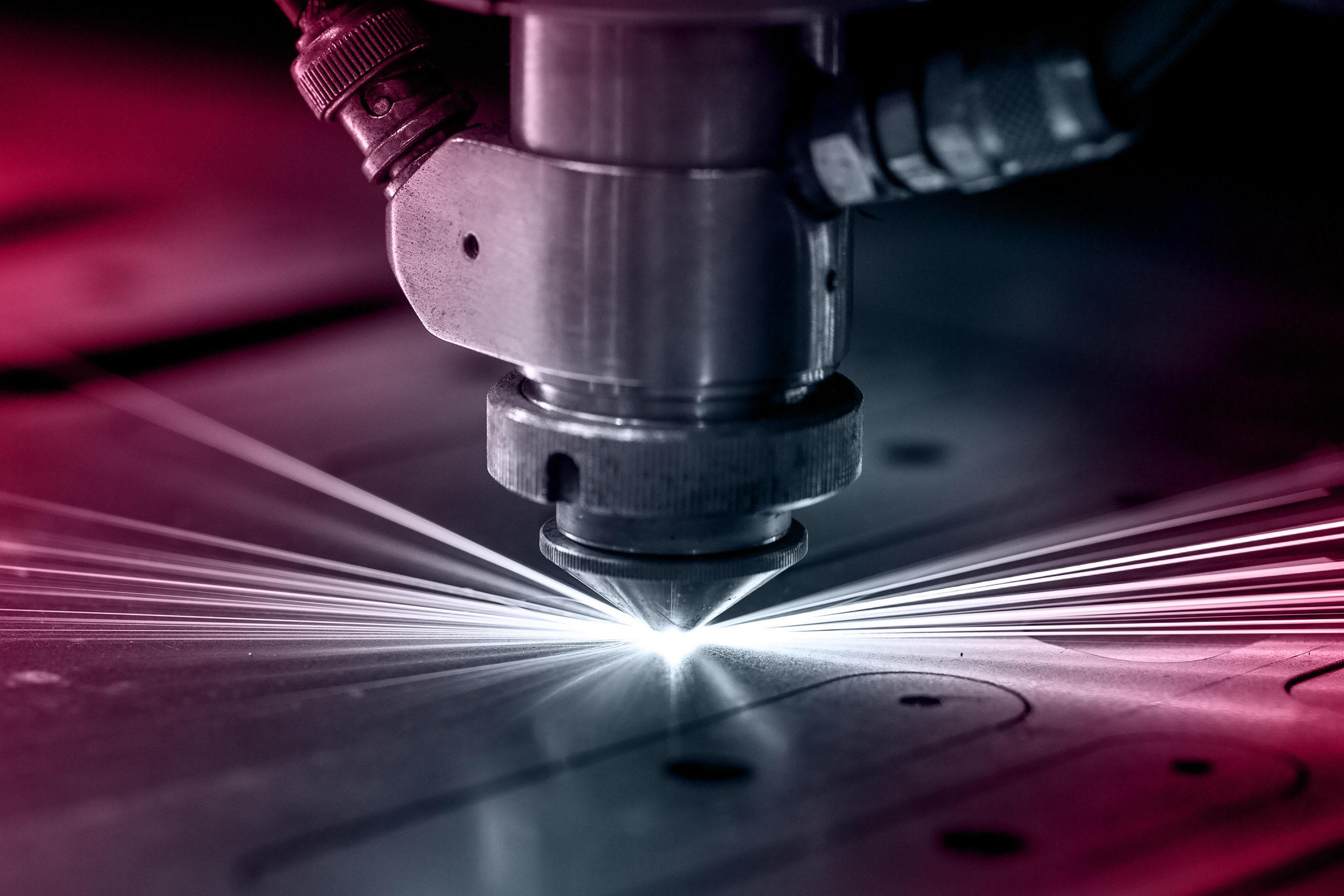 taglio laser sfumatura